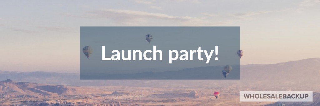 msp backup solutions service offering launch party idea