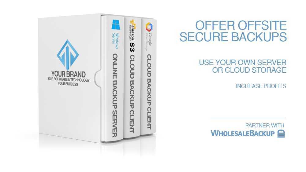 white box of bundled software