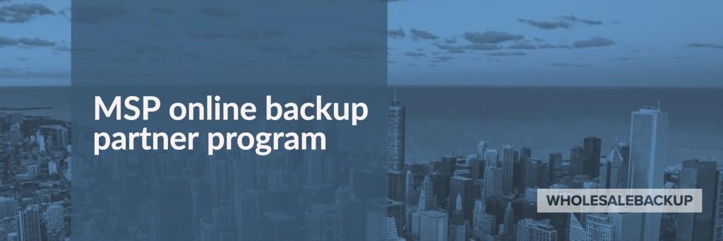 msp online backup partner program