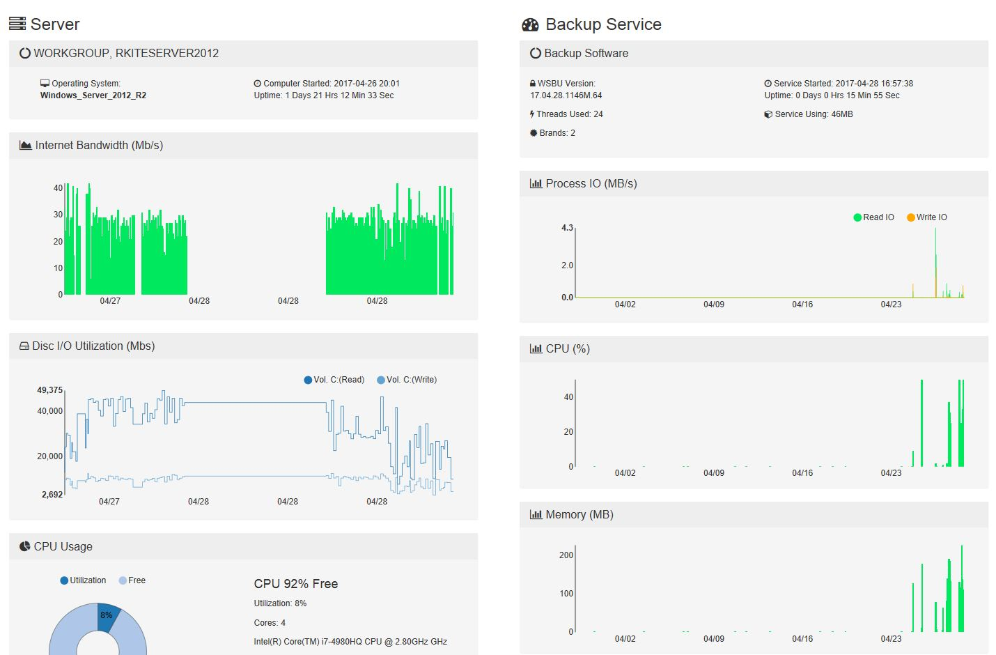 new-server-dashboard-graphs-released