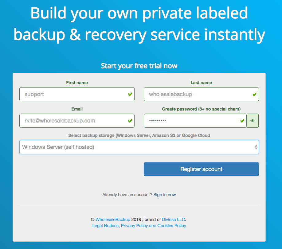register-with-web-console-for-launching-azure-backup-clients